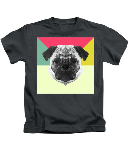 Party Pug Kids T-Shirt