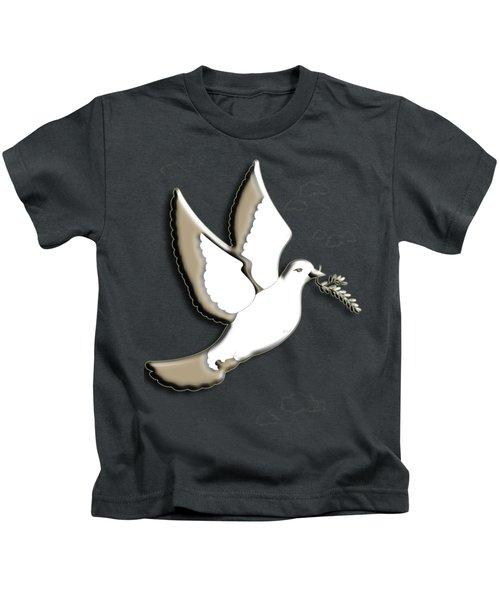 Peace Among The Clouds Kids T-Shirt