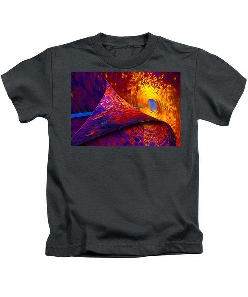 Peeling Back Time Kids T-Shirt