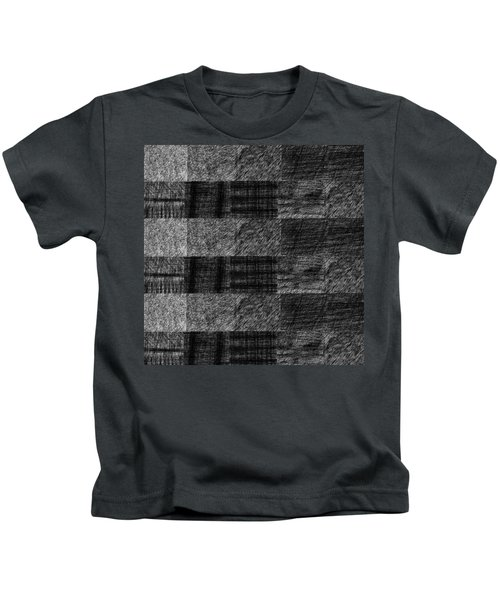 Pencil Scribble Texture 1 Kids T-Shirt