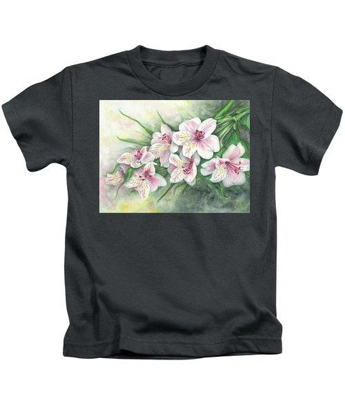 Peruvian Lilies Kids T-Shirt