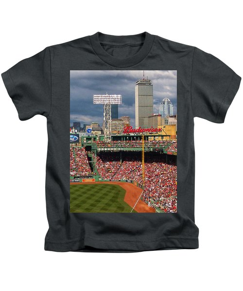 Peskys Pole At Fenway Park Kids T-Shirt