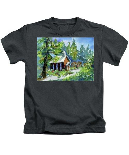 Pioneer Union Church Kids T-Shirt