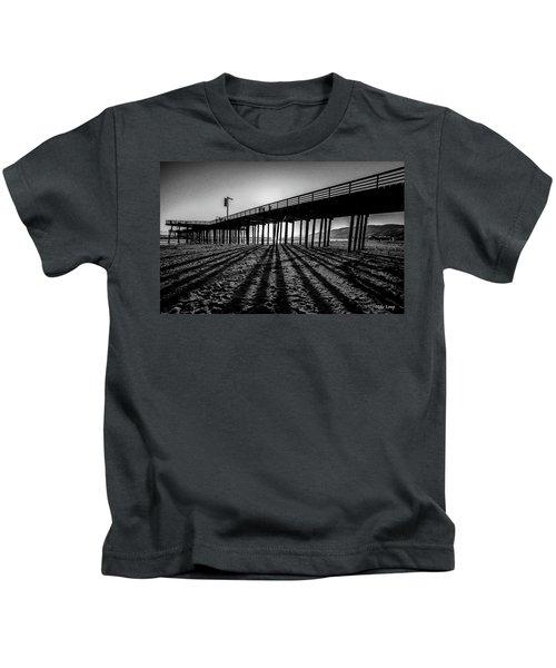 Pismo Beach Pier Kids T-Shirt