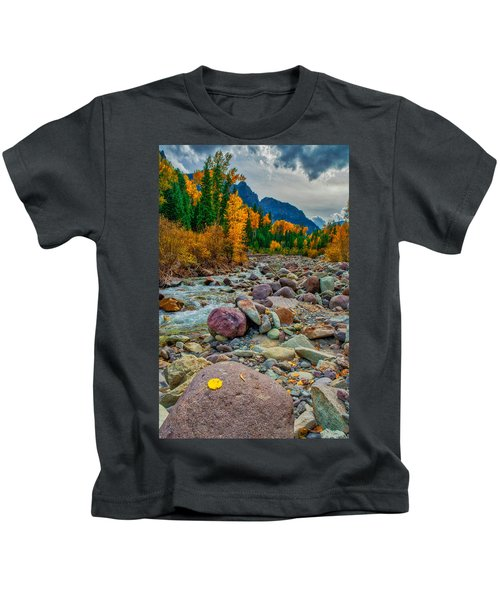 Point Of Color Kids T-Shirt