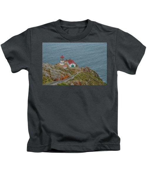 Point Reyes Lighthouse Kids T-Shirt