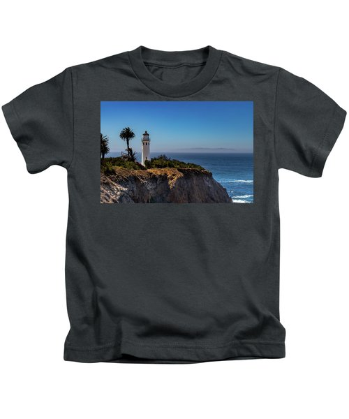 Point Vicente Lighthouse Kids T-Shirt