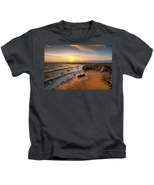 Pointe Du Percho And Port Blanc Kids T-Shirt