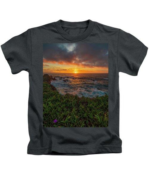 Pomo Bluffs Sunset - 2 Kids T-Shirt