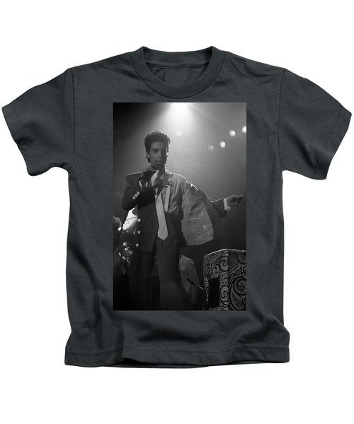 Prince On Stage Belgium 1986 Kids T-Shirt
