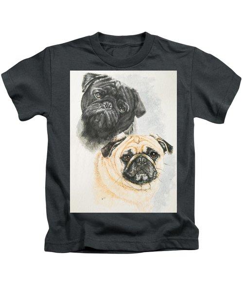 Pug Brothers Kids T-Shirt