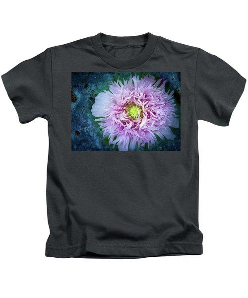 Purple Poppy Kids T-Shirt