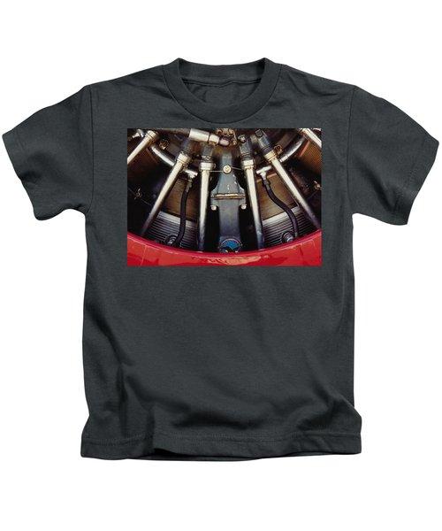 Radial Closeup Kids T-Shirt
