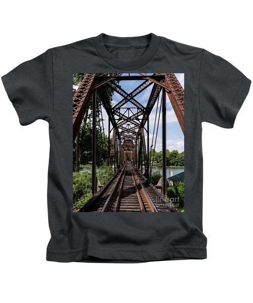 Railroad Bridge 6th Street Augusta Ga 1 Kids T-Shirt