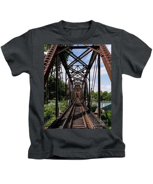 Railroad Bridge 6th Street Augusta Ga 1 Kids T-Shirt
