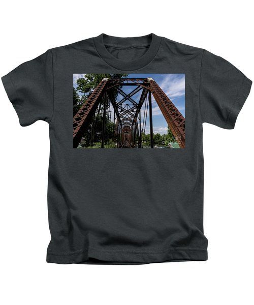 Railroad Bridge 6th Street Augusta Ga 2 Kids T-Shirt