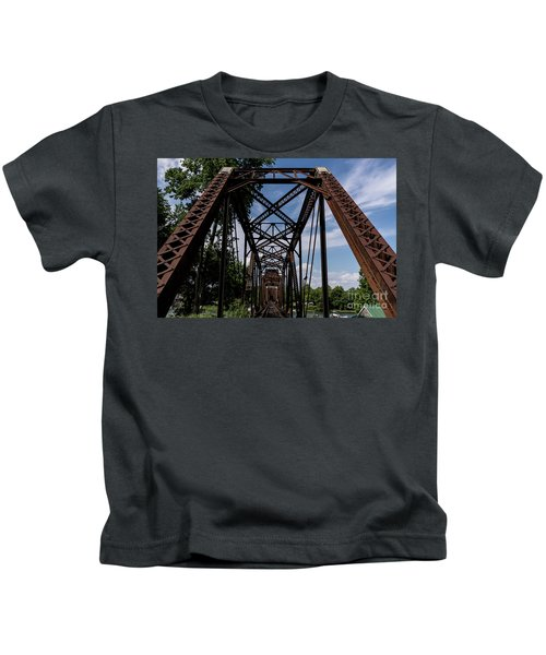 Railroad Bridge 6th Street Augusta Ga 2 Kids T-Shirt