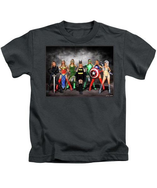 Reflections Of A Hero Kids T-Shirt