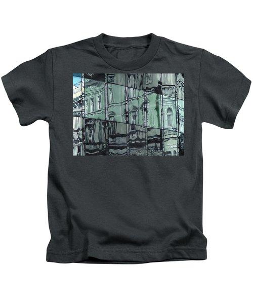 Reflection On Modern Architecture Kids T-Shirt
