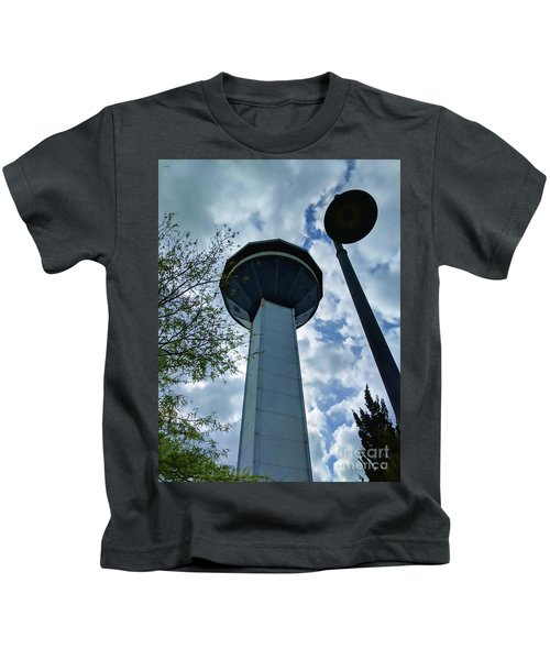 Restaurant In The Clouds Kids T-Shirt