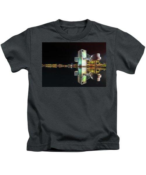 Rock Hall Reflections  Kids T-Shirt