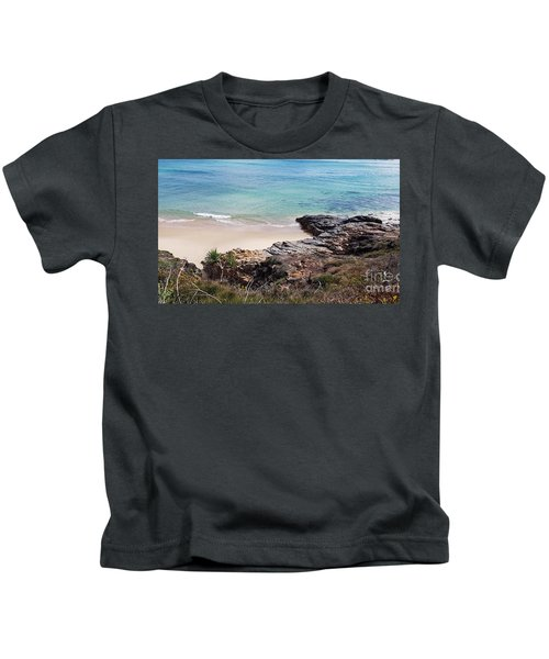 Rocks Sand And Water  Kids T-Shirt