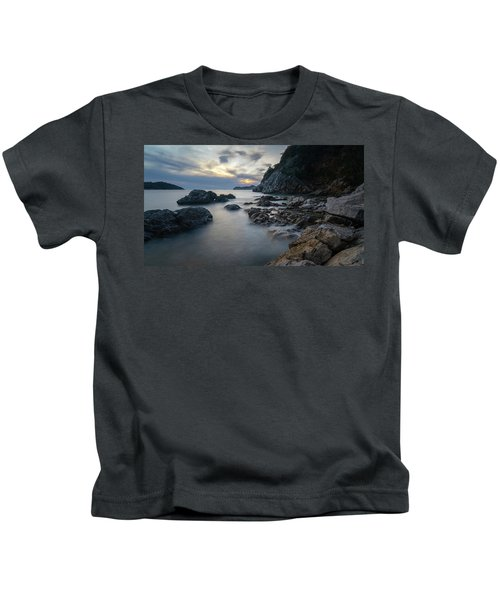 Rocky Coast Near Dubrovnik Kids T-Shirt