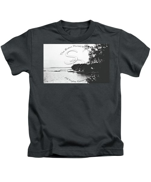 Rohr's Dock, Boston Harbor, 1932 Kids T-Shirt