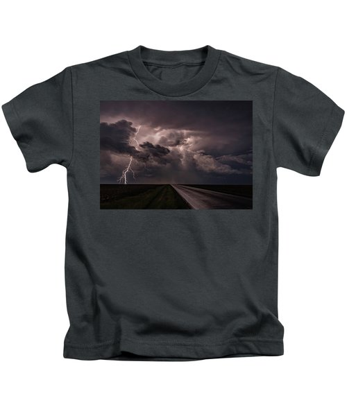 Rollin On Down The Road Kids T-Shirt