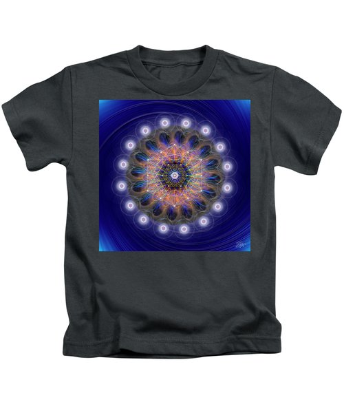 Sacred Geometry 726 Kids T-Shirt