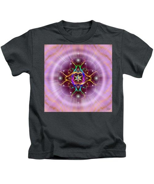Sacred Geometry 757 Kids T-Shirt