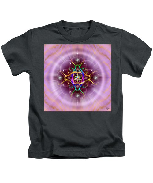 Sacred Geometry 757 Kids T-Shirt