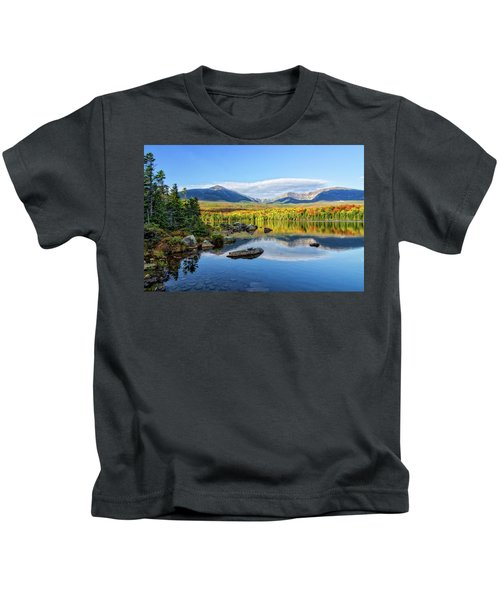 Sandy Stream Pond Baxter Sp Maine Kids T-Shirt