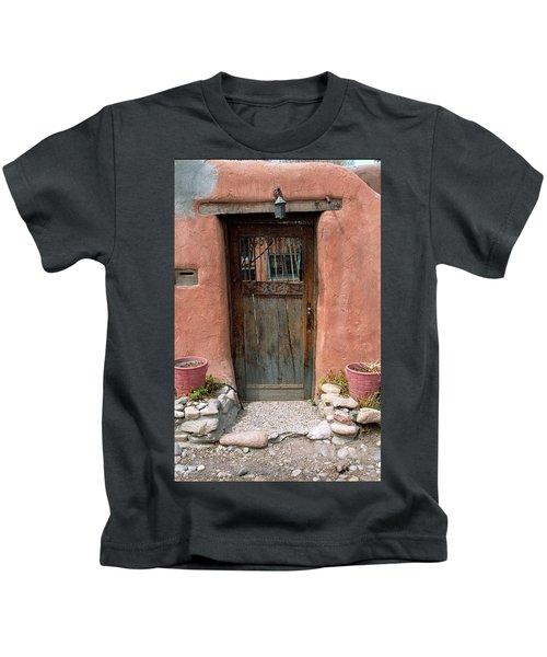 Santa Fe Door Kids T-Shirt