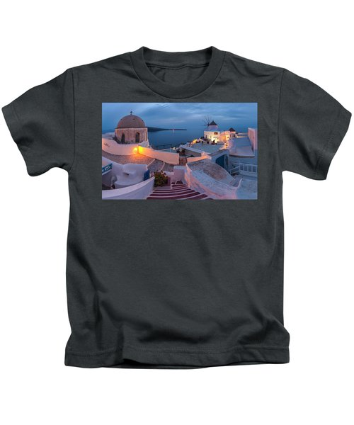 Santorini Kids T-Shirt