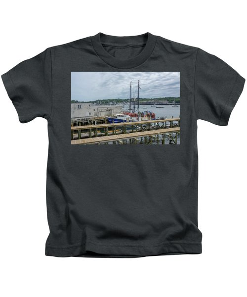 Scenic Harbor Kids T-Shirt