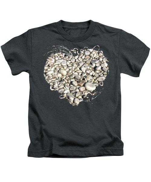 Schoolhouse Beach Rocks On Washington Island Door County Kids T-Shirt