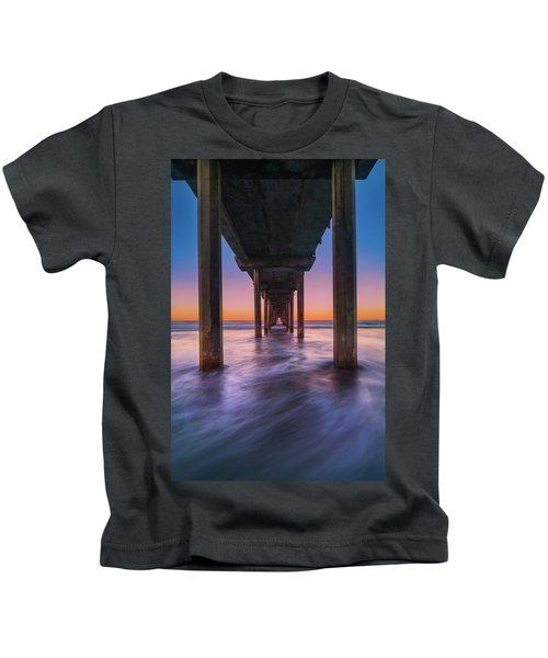 Scripps Pier - 2 Kids T-Shirt