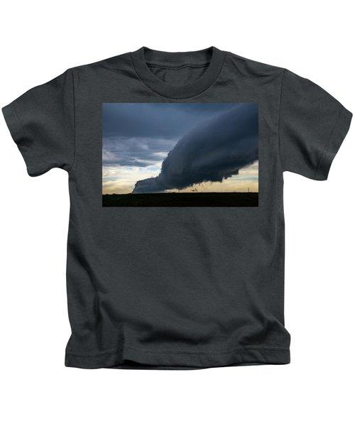 September Thunderstorms 003 Kids T-Shirt