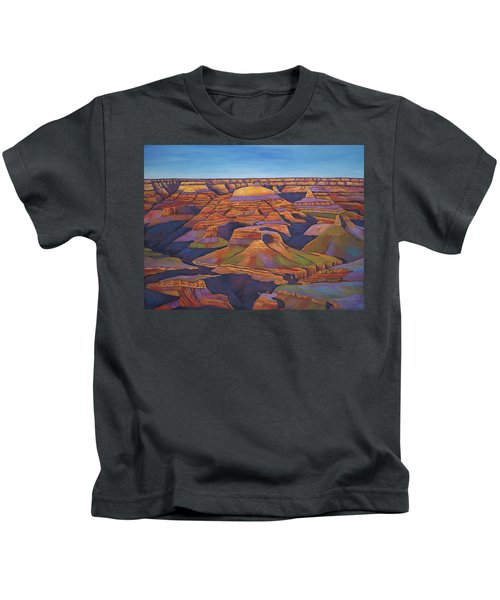 Shadows And Breezes Kids T-Shirt