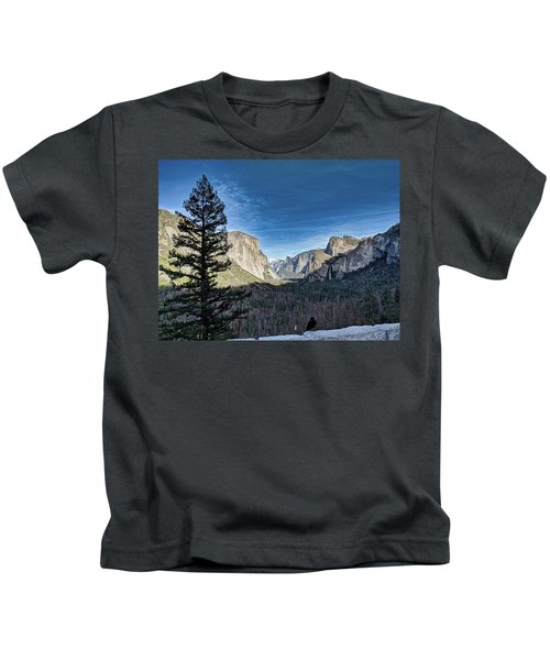 Shadows In The Valley Kids T-Shirt