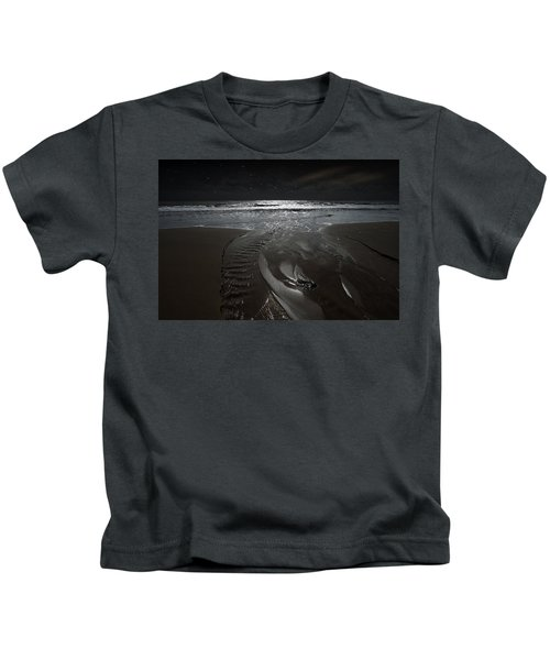 Shore Of The Cosmic Ocean Kids T-Shirt