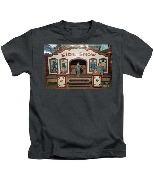 Side Show Vintage Penny Arcade Machine Dsc6828 Kids T-Shirt