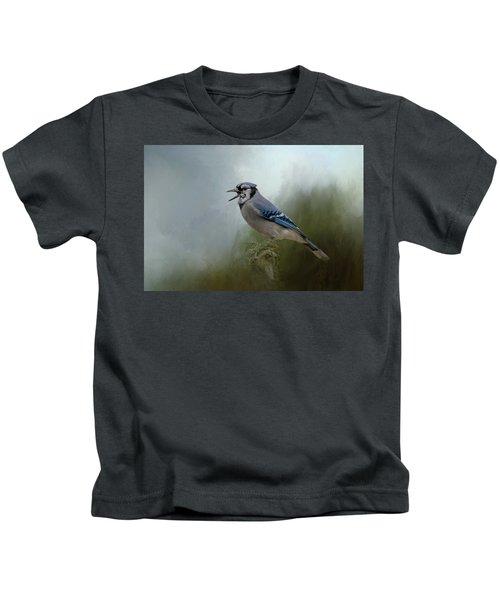 Singing The Blues Kids T-Shirt