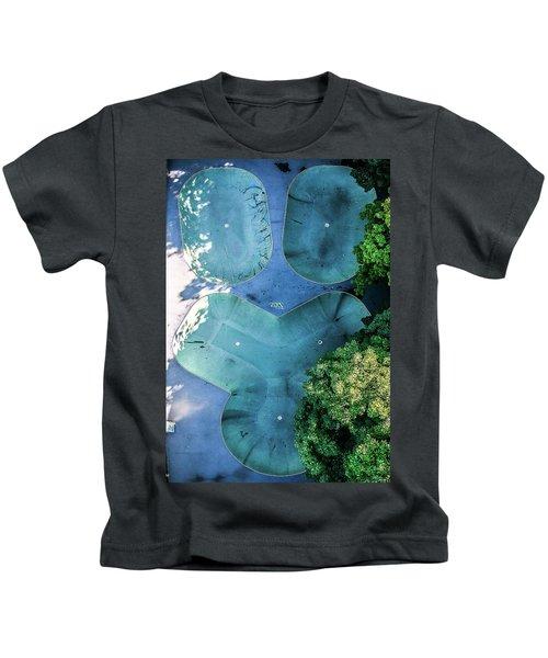 Skatepark - Aerial Photography Kids T-Shirt