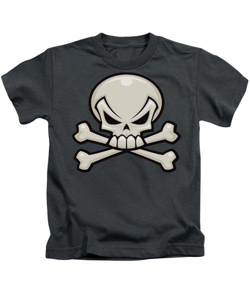 Skull And Crossbones Kids T-Shirt
