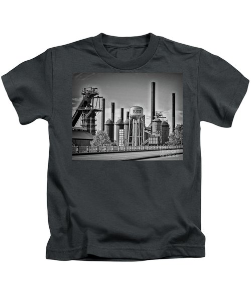 Sloss Furnaces Towers Kids T-Shirt