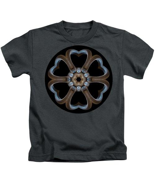 Snake Mandala Kids T-Shirt