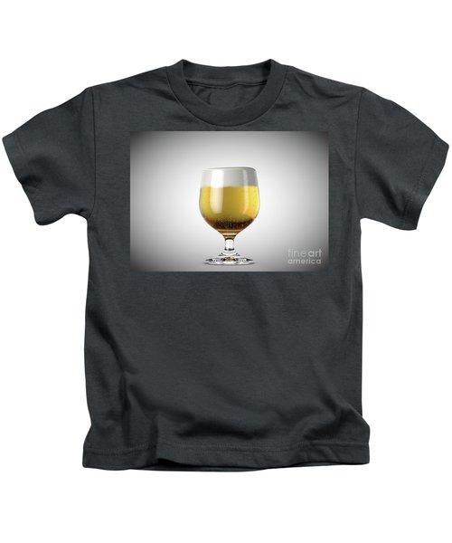Snifter Beer Pint Kids T-Shirt