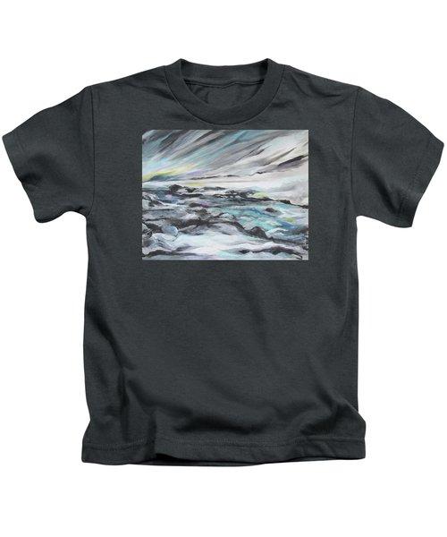 Snow Flow Kids T-Shirt